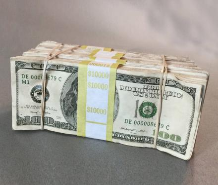 $50,000 In Movie Prop Money