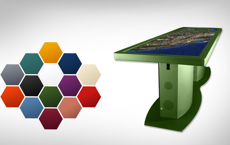 100 Inch Touchscreen Table