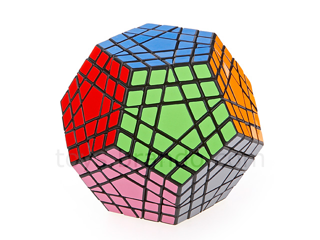 12 Sided Pentagon Rubiks Cube