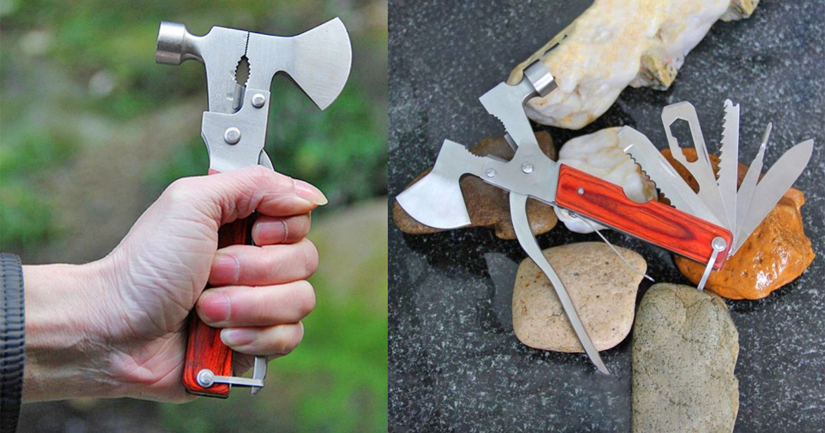 This 14-in-1 Hammer Multi-Tool Is The Ultimate Tool