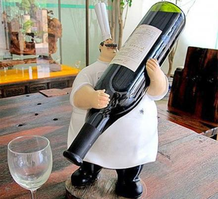 We Found The 17 Funniest Wine Bottle Holders To Put In Your Home Bar