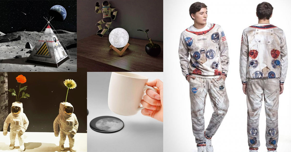 16 Moon and Astronaut Themed Gadgets To Help Celebrate The Moon Landing Anniversary