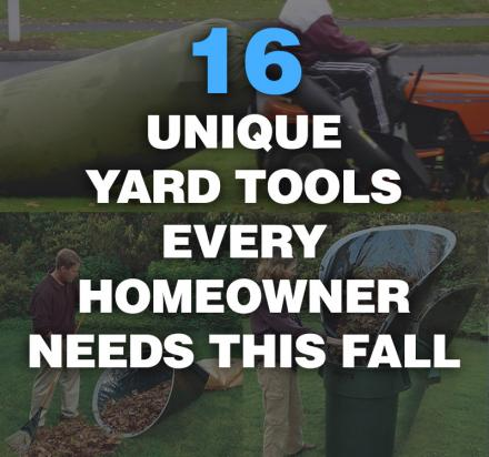 16 Genius Yard Tools For Fall 2020