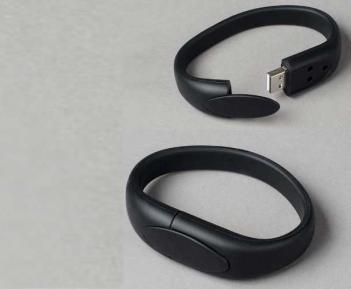 16GB Flash Memory Drive Bracelet