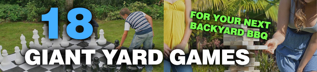 18 Giant Yard Games For Summer 2016