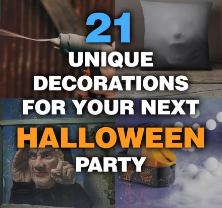 21 Must-Have Decorations For Your Next Halloween Party