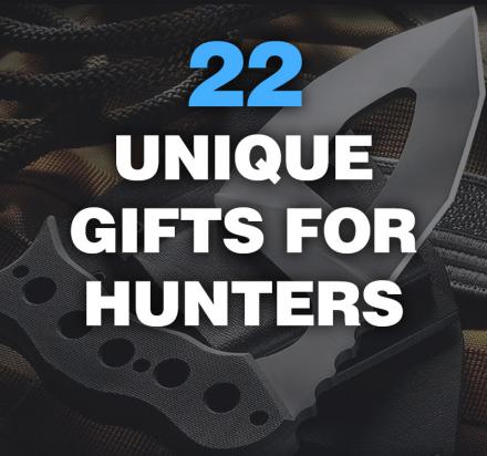 24 Unique Gifts For Hunters