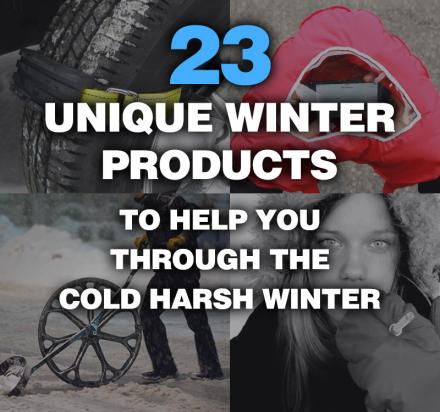 23 Unique Winter Products To Help You Through The 2016 Winter