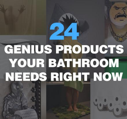 24 Genius Products Your Bathroom Needs Right Now
