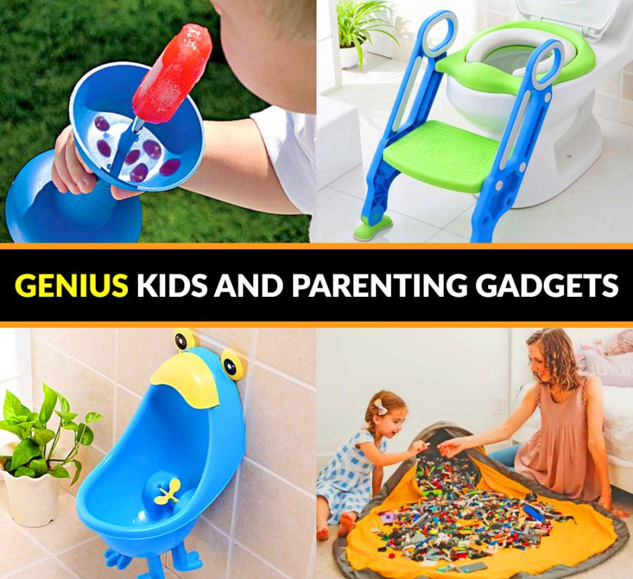 30 Genius Baby/Kid Products And Gadgets
