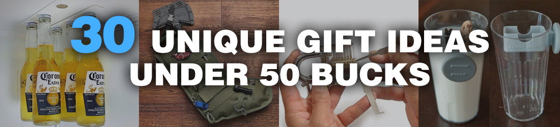 30 Unique Gifts Ideas For Under 50 Bucks