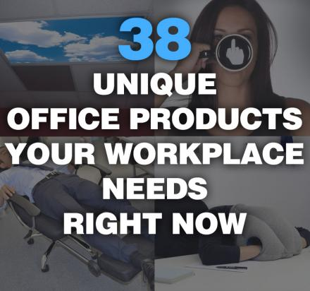 38 Unique Office Products Your Workplace Needs Right Now