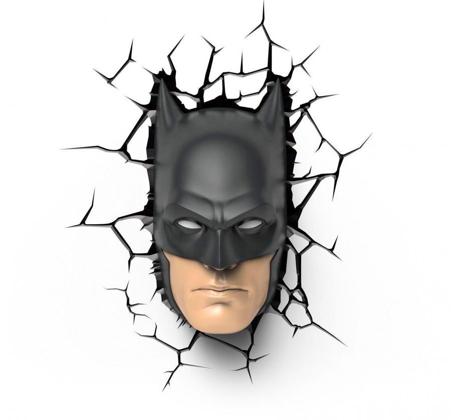 3d Batman Face Night Light