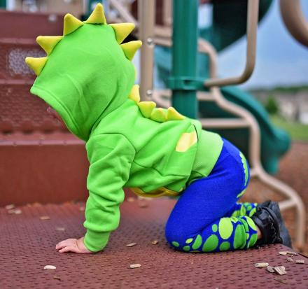This 3D Hoodie Turns Your Kid Into a Dinosaur