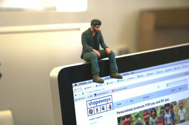 3D Printed Sad Keanu