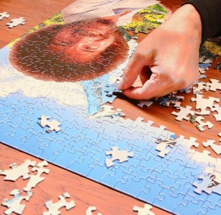 500 Piece Bob Ross Jigsaw Puzzle