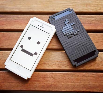 8-Bit Pixelated iPhone Case