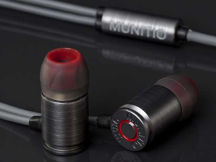 9mm Bullet Shaped Earbuds