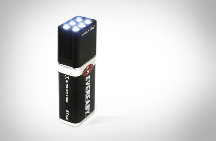 9v Battery Flashlight