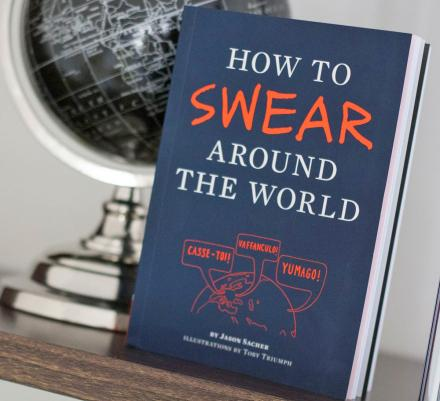 A Book That Teaches You How To Swear In Different Languages Around The World