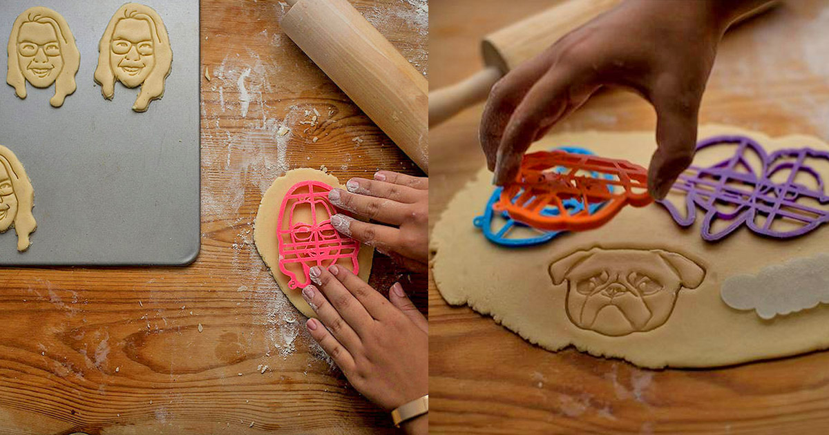 A Cookie Cutter Shaped Like Your Face, Or Your Dog