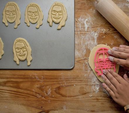 A Cookie Cutter Shaped Like Your Face, Or Your Dog's Face