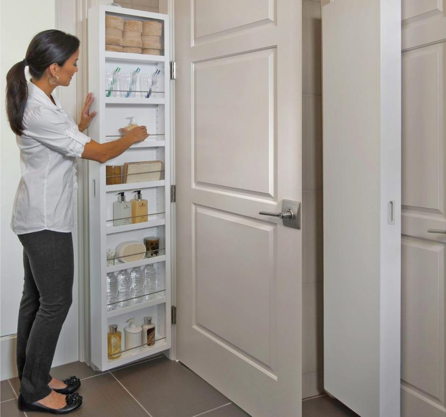 Cabidor A Hidden Cabinet System That Installs Onto Any Door