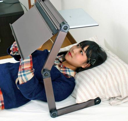 360 Degree Adjustable Laptop Stand Lets You Work Upside-Down