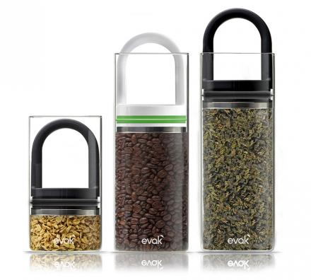 Adjustable Vacuum Storage Containers