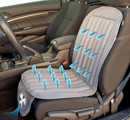 You Can Get An After-Market Car Seat Cooler To Chill Your Cheeks On Hot Summer Days