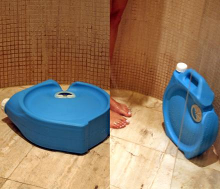 Aguawell Saves The Water You Waste While Your Shower Heats Up