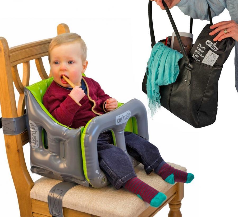 Airtushi Inflatable Travel High Chair