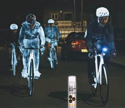 Albedo 100 Reflective Spray Makes You Easily Seen at Night