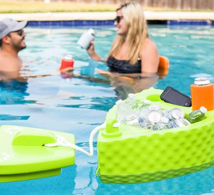 All Aboard For This Floating Boat Cooler