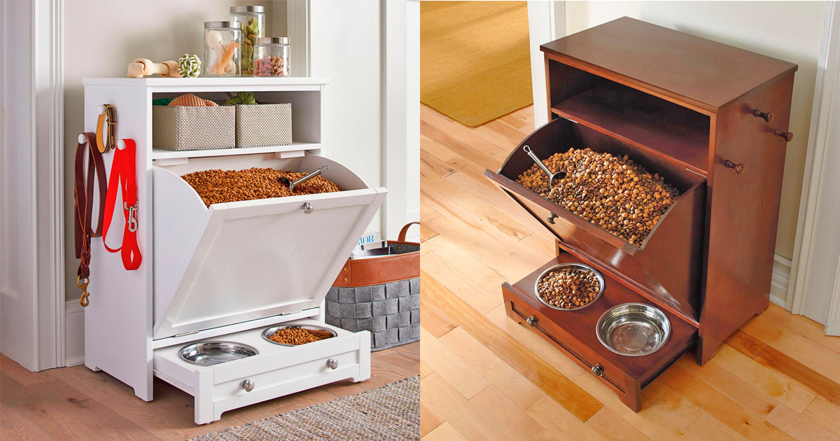 All-in-1 Dog Feeding Station