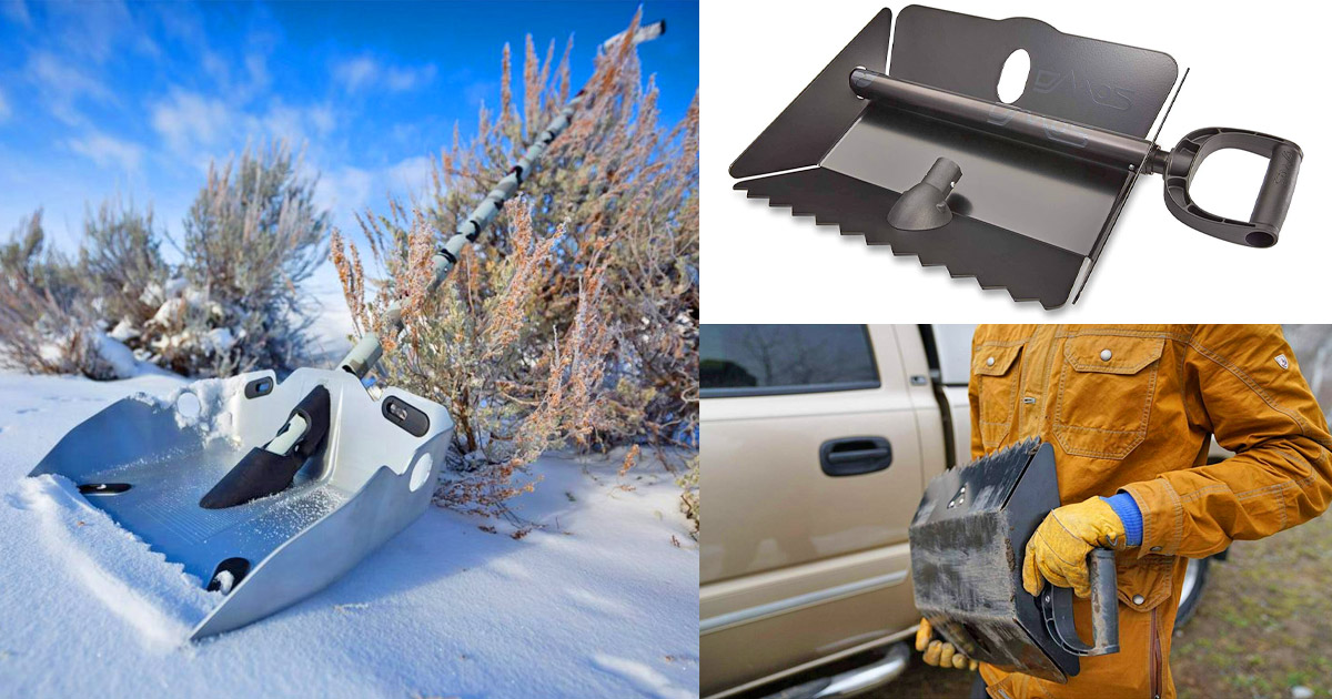 Alpha Shovel: Extremely Rugged Multi-Tool Shovel With Saw Embedded In Handle
