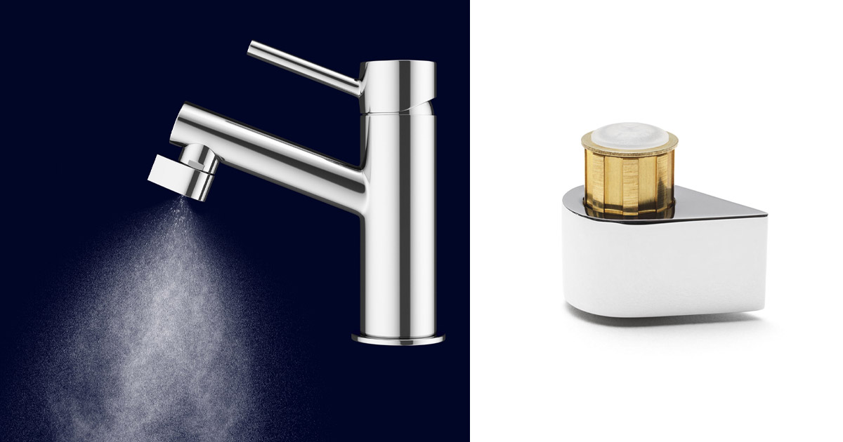This Incredible New Faucet Nozzle Conserves 98% of the Water You Use Through It