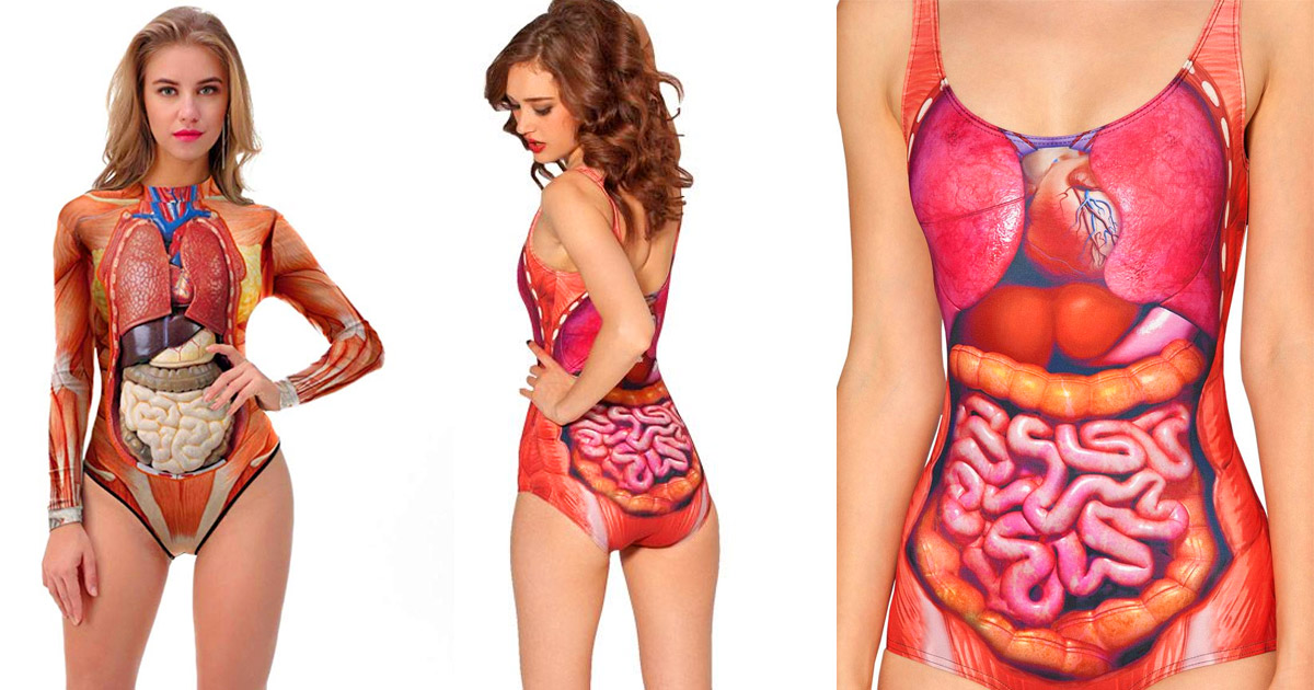 Anatomically Correct Swimsuit or Halloween Costume