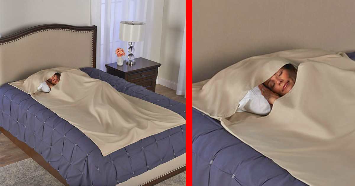 This Anti-Bacterial Sleeping Cocoon Keeps You Free From Germs and Viruses From Your Sickly Family