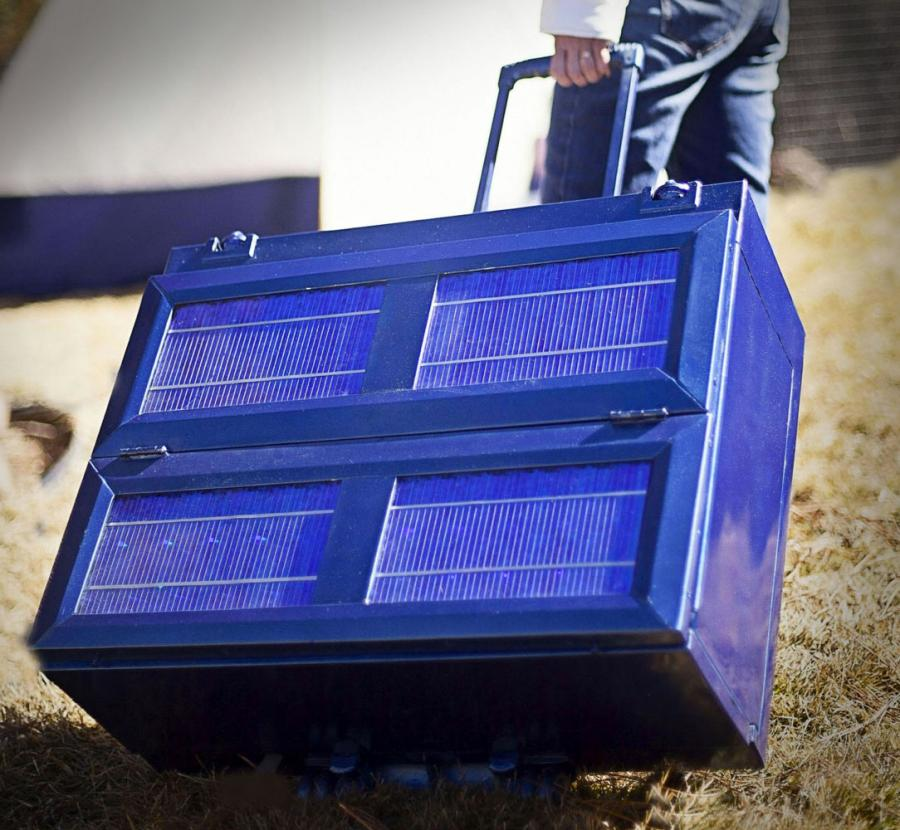 Anywhere Fridge Collapsible Solar Powered Refrigerator