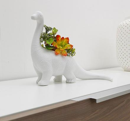 Aplantasaurus: Dinosaur Shaped Planter