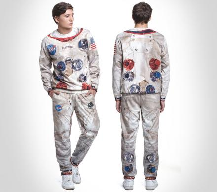 Apollo 11 Astronaut Sweatshirt and Sweatpants