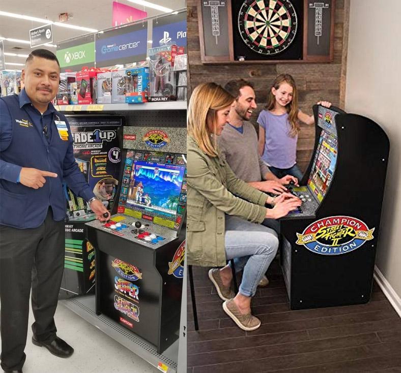 Arcade1Up: A Mini 4 Foot Retro Arcade Machine