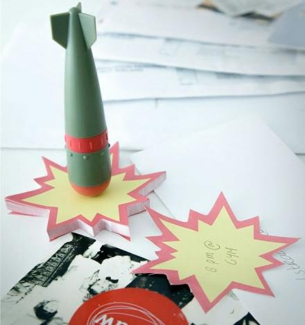 Atomic Bomb Pen And Explosion Notepad