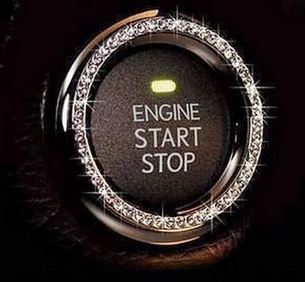 Auto Start Button Bling