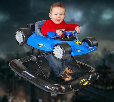 Baby Batman Walker Lets Your Kid Drive The Batmobile