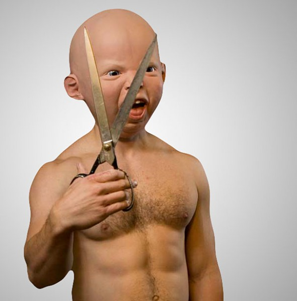 Realistic Baby Mask