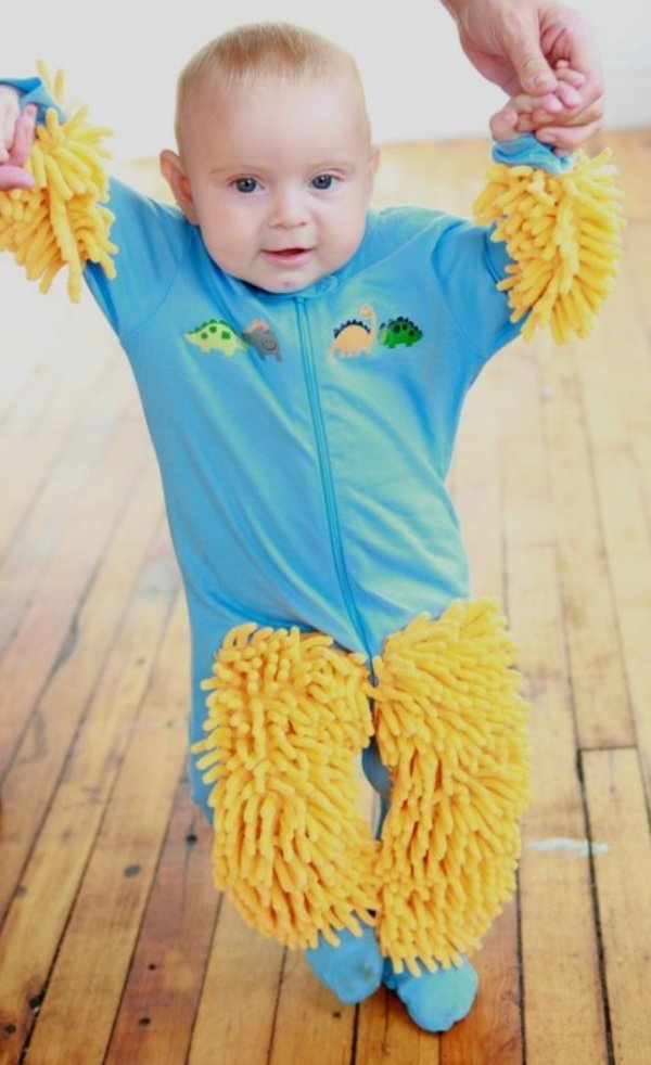 Baby Mop Sweeper 2