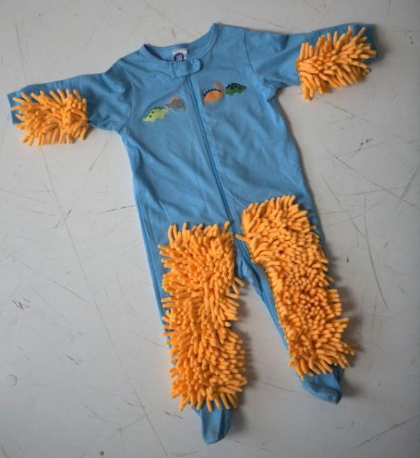 You Can Now Get Baby Mop Onesie Your Help