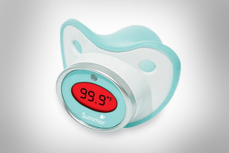 Baby Pacifier Thermometer